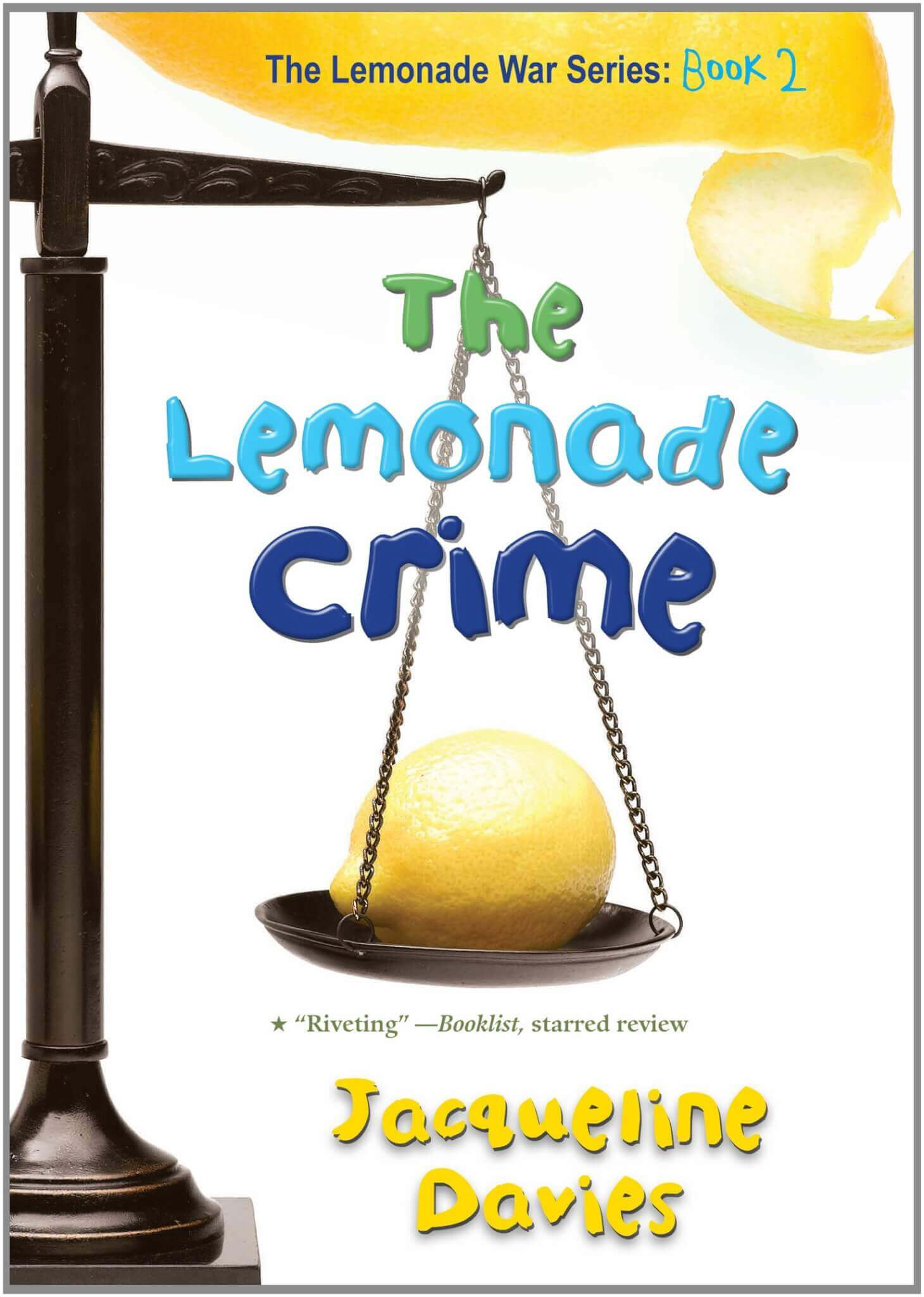 One School, One Book - The Lemonade Crime