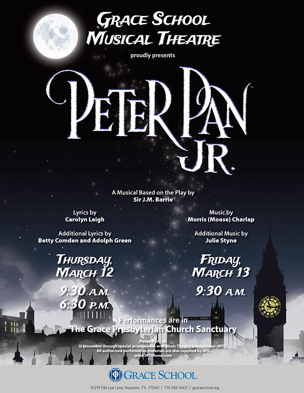 Peter Pan Jr. at Grace School